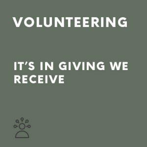 persuasive speech about volunteering