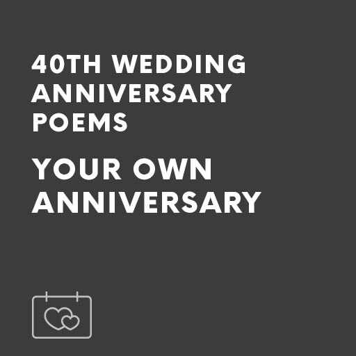 Home Wedding Speeches Anniversary Speech Any 40th Ruby Poems Your Own