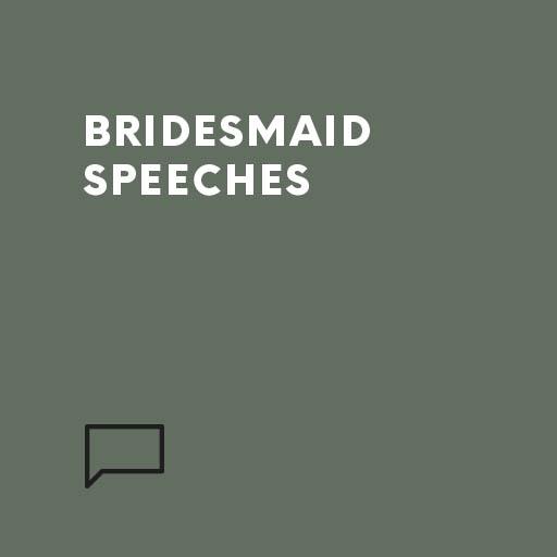 Bridesmaid Speeches Speechwriters Com